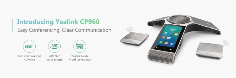Yealink CP960 conferencing phone with features