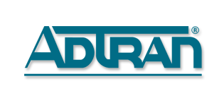 Adtran stylized logo and name