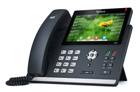 Yealink T48G desk phone with screen